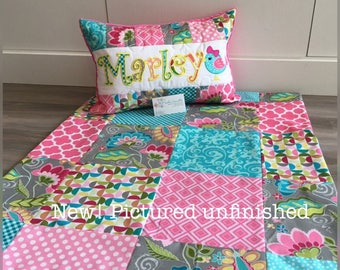 New!  FANTINE floral Quilt and pillow set