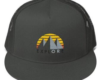 ExplORe - Mesh Back Snapback