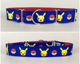 Pokémon Pikachu dog collar
