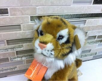 Plush Stuffed Animal Tiger Toy by WWF 1986