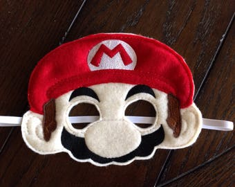 Super Mario mask, Nintendo, Dress up, Kids Costumes