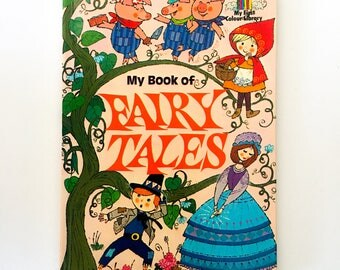 My Book of Fairy Tales / My First Colour Library / 1977 / Rare and Collectable