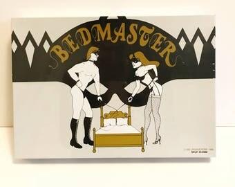 1990 Bedmaster Board Game