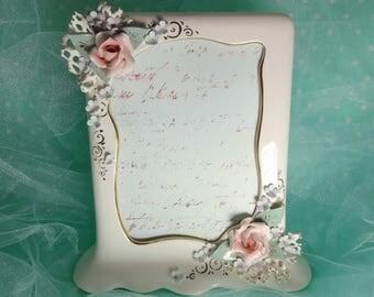 Vintage Ceramic Frame