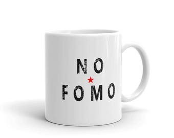 NO FOMO - Fear of Missing Out Cryptocurrency Coffee Mug