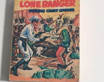 1968 the Lone Ranger outwits crazy cougar a big little book