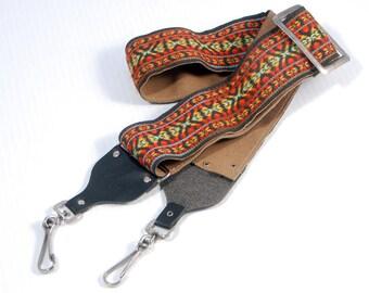 "Vintage ""Hippie"" style camera strap"