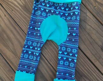 Winter Fair Isle Grow with Me Pants Maxaloones