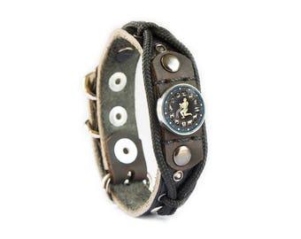 Men's Aquarius Bracelet