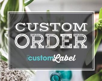 1- Custom Label edit
