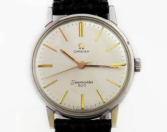 Vintage Omega Seamaster 600 Mechanical Mens Manual Wind Cal 601  Swiss Watch