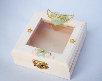 "Handmade Jewellery Case ""Reverie"""