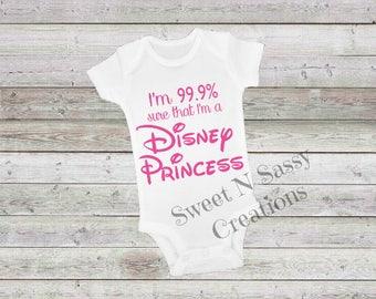 99% Disney Princess Onesie