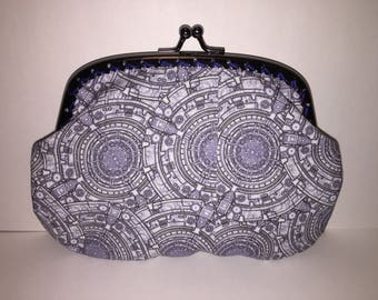 Large Tardis Console Dr Who Coin Purse