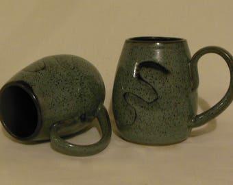 Steel Gray Coffee Mugs