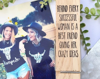 Best friend magnet, Maid of Honor, Bachelorette Gift NEW LARGER SIZE