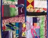 Fidget Quilt / Sensory Blanket - Hidden Smiles