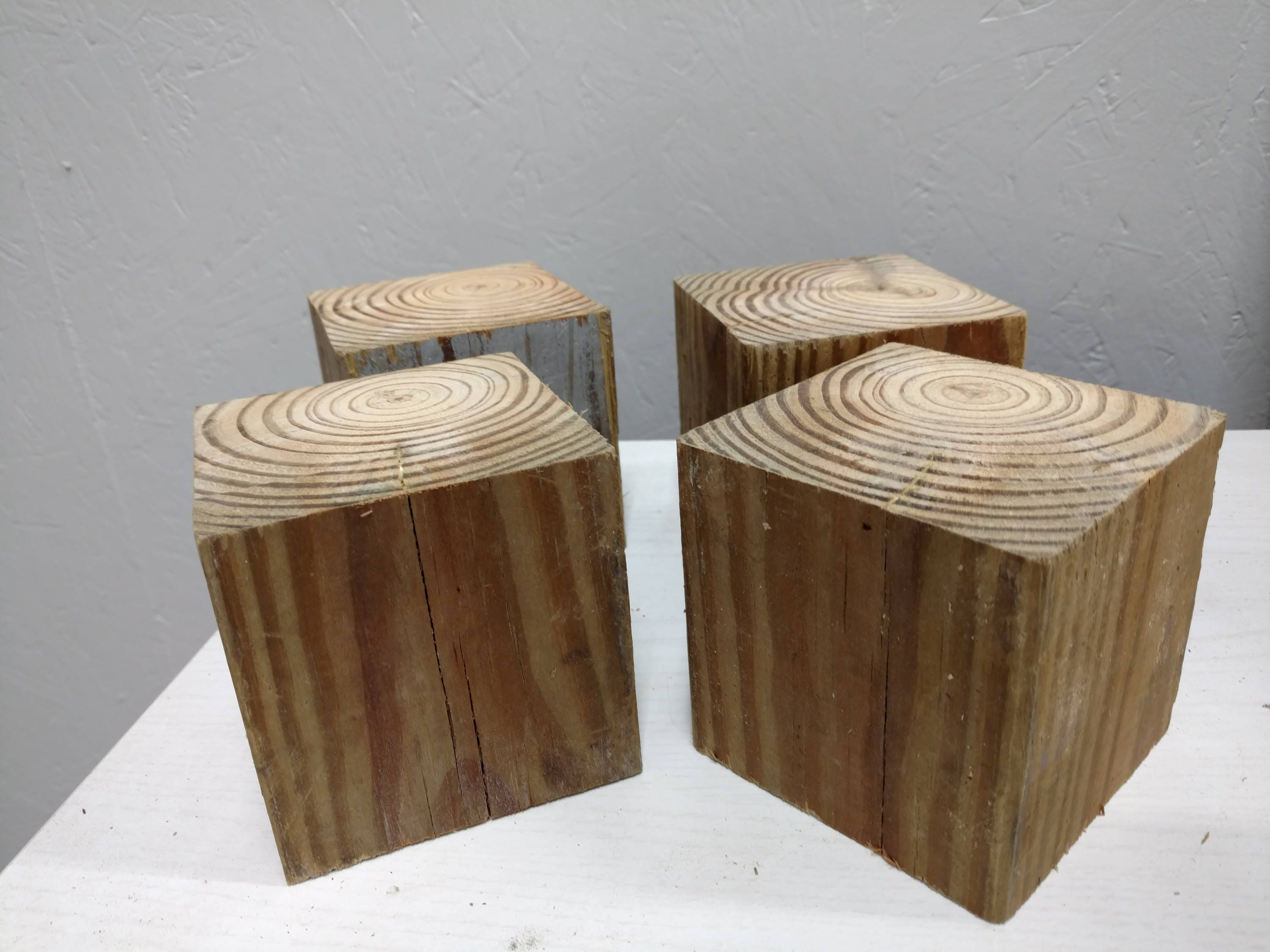 Big Wood Blocks ~ Extra large wood blocks primitive style by square