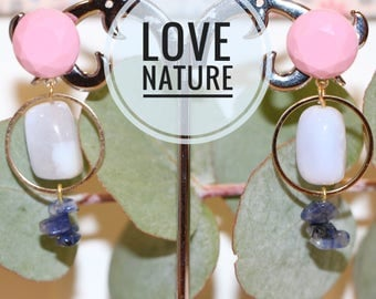 "Earrings ""nature"""