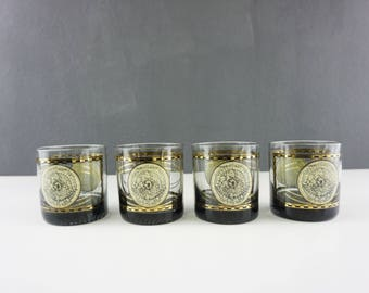 Vintage map glasses etsy vintage hemisphere glasses barware lo ball glasses mid century modern world map gumiabroncs Image collections