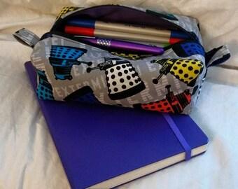 Dalek makeup / pencil bag