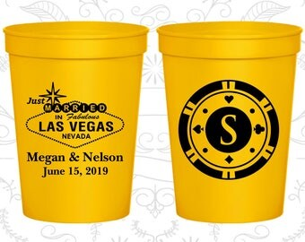 Yellow Stadium Cups, Yellow Cups, Yellow Party Cups, Yellow Wedding Cups (59)