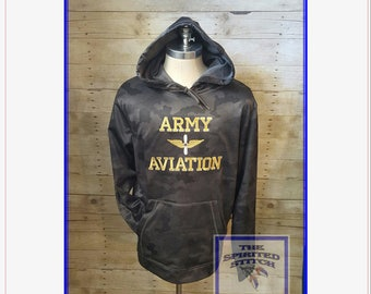 CamoHex Sweatshirt Army Aviation - Made to Order