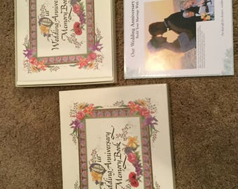 Our Wedding Anniversary Memory Book Hardcover The Nittany Quill