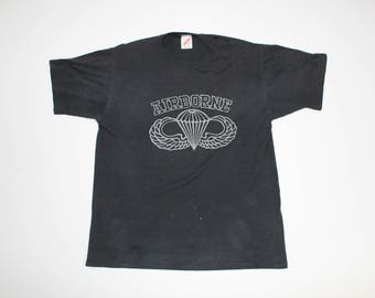 Vintage Army Airborne Division T-shirt