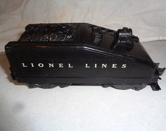1950s Lionel electric trains,tender 1615T to steam loco for 027 or 0 gauge track