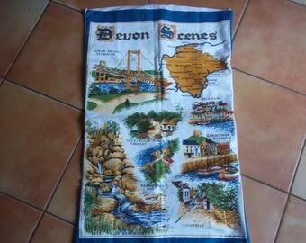 Hand Sewn Vintage Tea Towel Cushion Cover