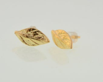 SALE leaf stud earrings,gold leaf earrings,stud earrings,leaf earrings,gold earrings,leaf jewelry ,