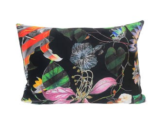 READY TO SHIP - 12x17 Christian Lacroix Malmaison Reglisse Designer Pillow Cover (sized for 12x18 insert)