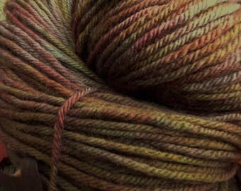 Pure MERINO DK 100 gms, 225 mts, Hand Dyed, superwash, Mollycoddle Yarns, indie dyer, hand painted
