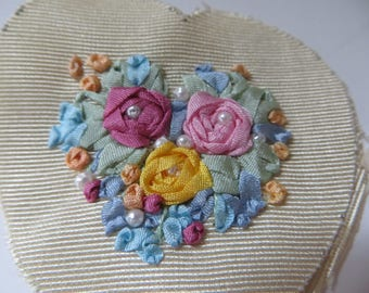 Silk Ribbon Embroidery Set-Finished