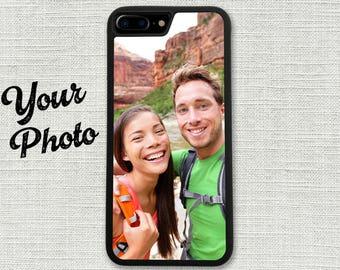 iPhone 7 Case, Photo Picture iPhone 7 Plus Case, Custom Your Photo Image for iPhone X, iPhone 10, iPhone 8, iPhone 8 Plus, iPhone 6 6S Plus