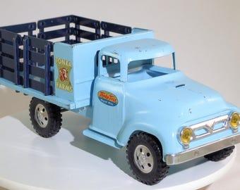 Vintage Tonka 1957 Farm Stake Truck