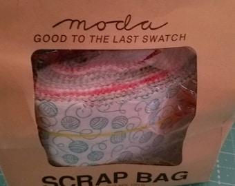 Woof Woof Meow  - Moda Scrap Bag