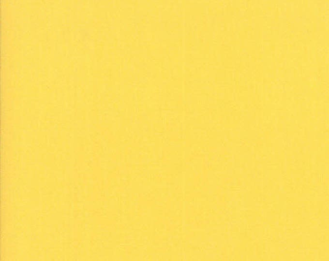 BELLA SOLIDS - Buttercup Yellow - Solid Blender Cotton Quilt Fabric - from Moda Fabrics - 9900-51 (W4406)