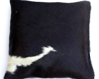 Natural Cowhide Luxurious Hair On Cushion/ Pillow Cover (15''x 15'') A13
