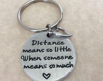 Long Distance Relationship Gift, Gift for him, Anniversary Gift for her, Couples gift, moving way gift, going away gift, graduation gift