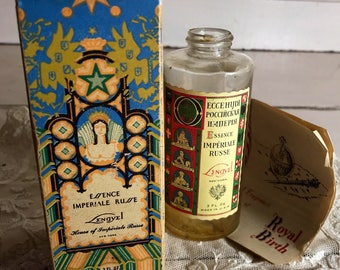 1929 Russian Perfume with Box