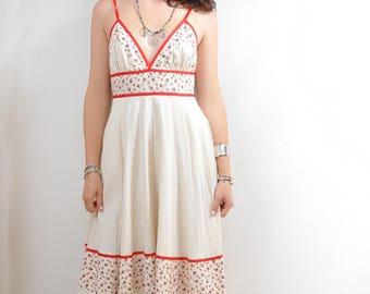 Gunne Sax Muslin Sun Dress S-M