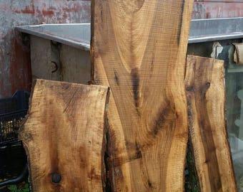 Live Edge Walnut , Rustic Walnut, Natural Edge, Wood Slab Kiln Dried