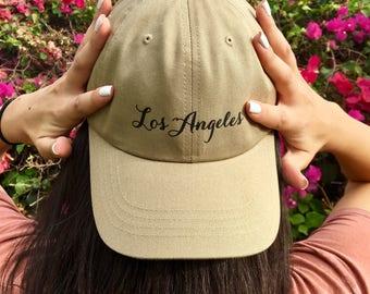 Los Angeles Dad Hat
