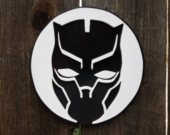 Black Panther Wooden Wall Art