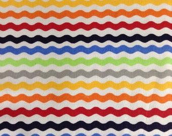 One Half Yard  of Fabric - Ric Rac Stripe