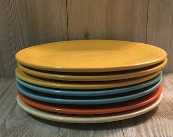"""Vintage Fiesta 9"""" Luncheon Plate"""