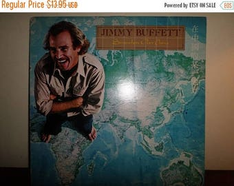 Save 30% Today Vintage 1982 Vinyl LP Record Jimmy Buffett Somewhere Over China Excellent Condition 11513