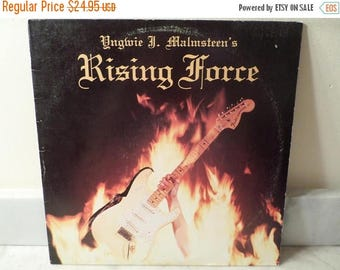Save 30% Today Vintage 1984 Vinyl LP Record Rising Force Yngwie J Malmsteen Heavy Metal Excellent Condition 15361